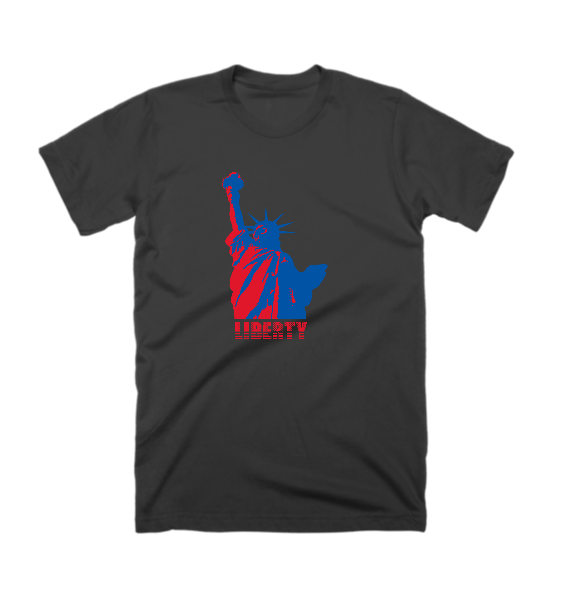 Lady Liberty Patriotic T-Shirt