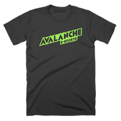 Avalanche Green Text Logo T-Shirt