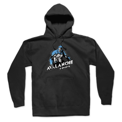Avalanche Blue Logo Pullover Hoodie