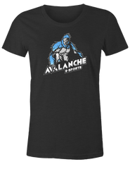 Avalanche Blue Logo Female T-Shirt