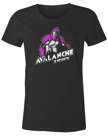 Avalanche Purple Logo Female T-Shirt