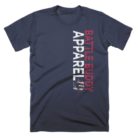 Battle Buddy Patriotic Custom T-Shirt