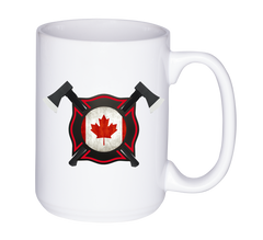 Mug 11oz. Firefighter Canada
