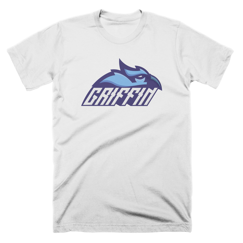 Griffin Logo White Custom T-Shirt