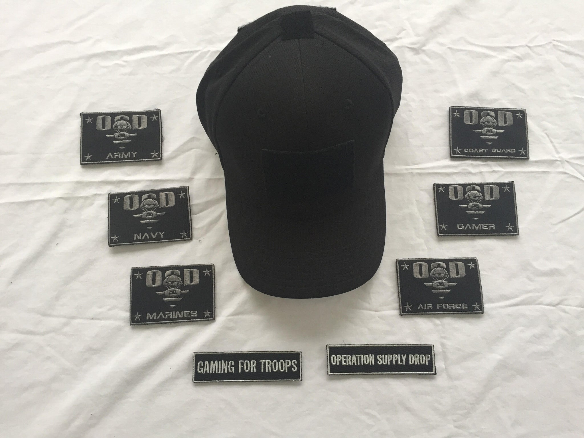 OSD Black Flex Fit Hat
