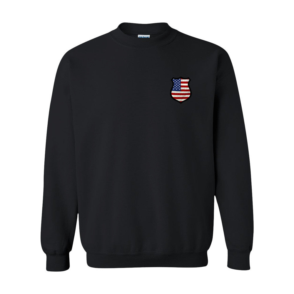 Police Shield Sweatshirt