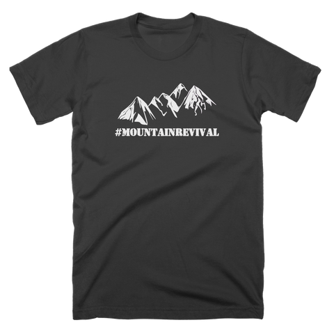 Mountain eSports White Logo T-Shirt