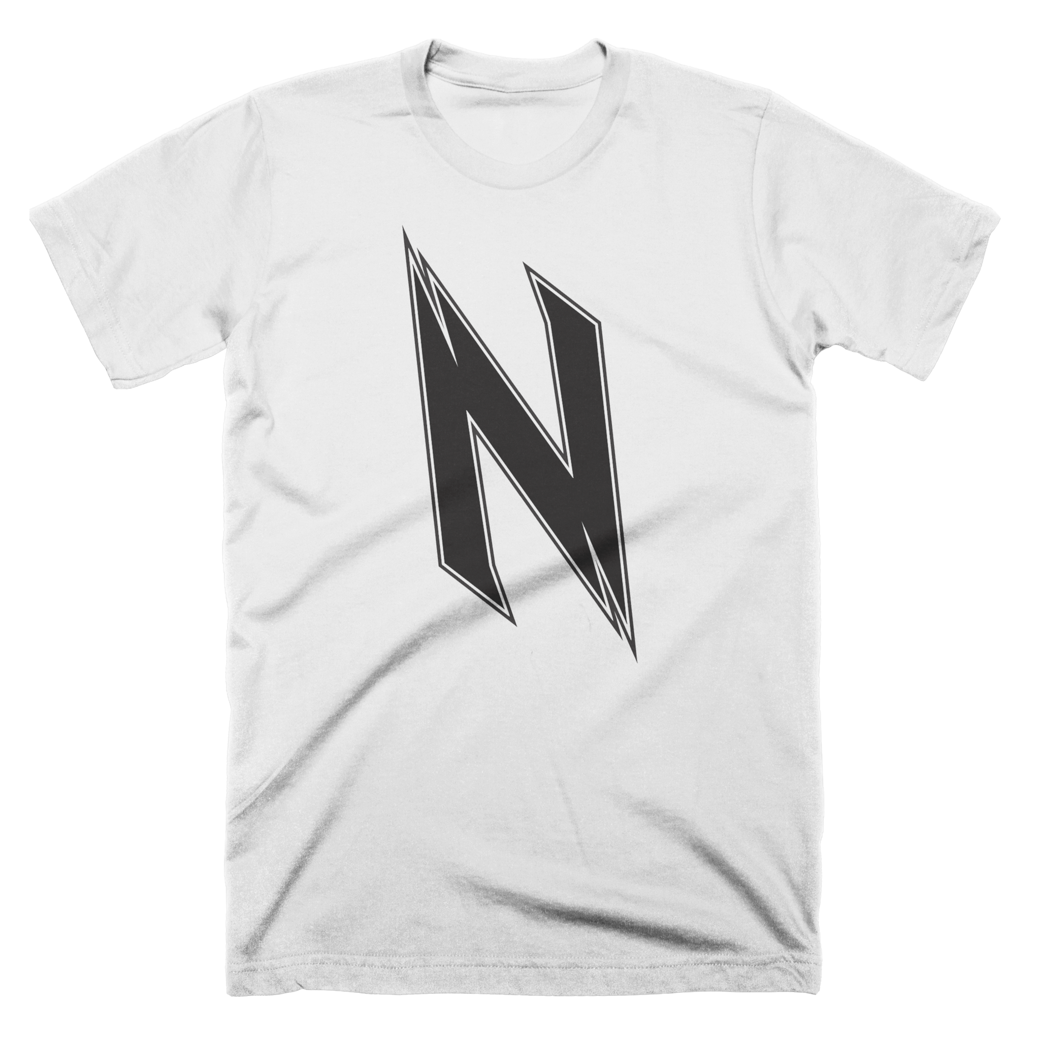 NoyZe Logo White Custom T-Shirt