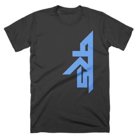 Pro Rookies Gaming Vertical Blue Logo T-Shirt