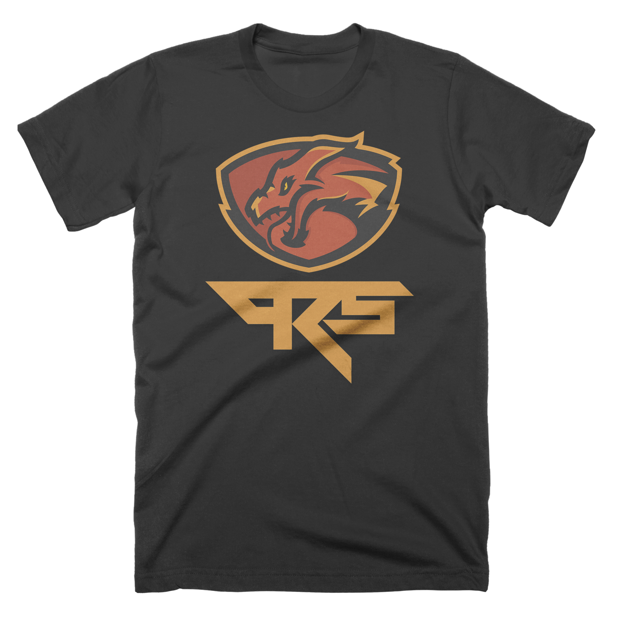 Pro Rookies Gaming Orange Logo T-Shirt