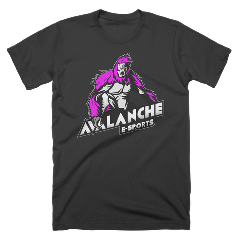 Avalanche Purple Logo T-Shirt