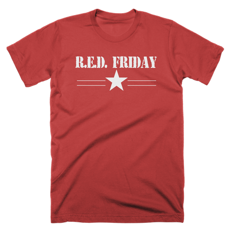 R.E.D. Friday Star