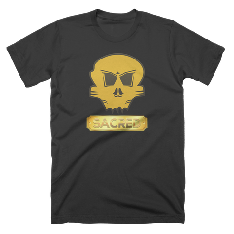 Sacred Skull Plaque T-Shirt