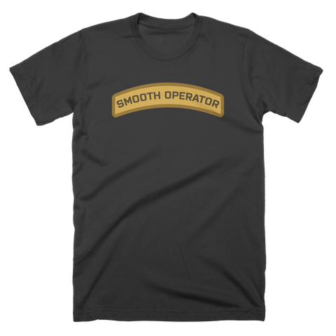 Smooth Operator Tabbed Custom T-Shirt
