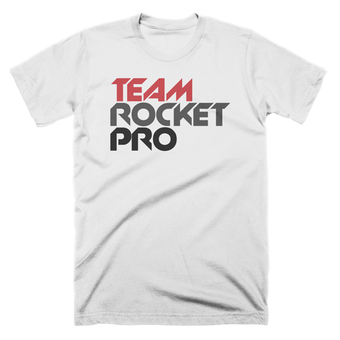 Team Rocket Pro Text Custom T-Shirt