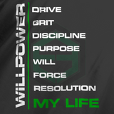 Willpower Motivational Shirt