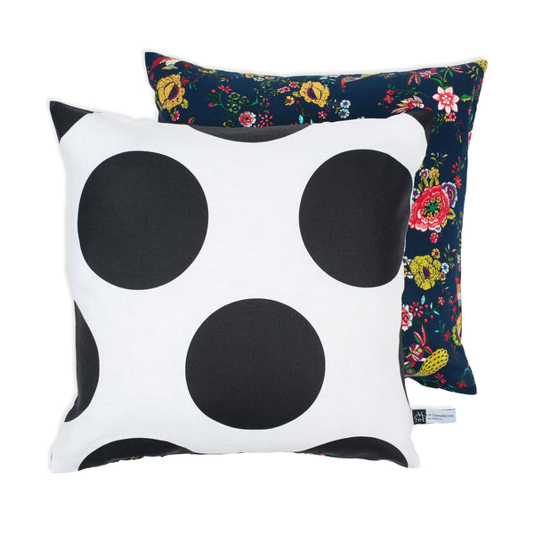 Florals & Jumbo Dots M Cushion