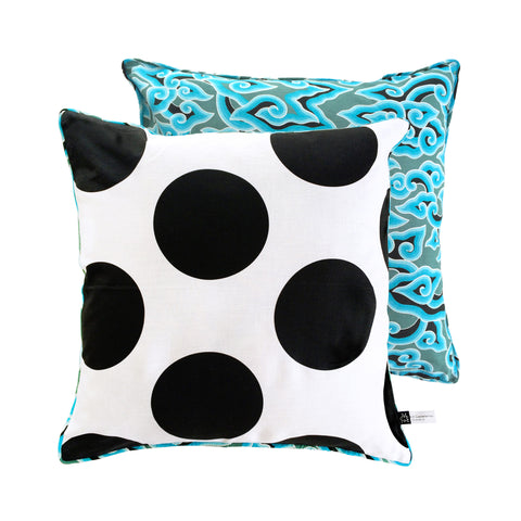 Batik & Jumbo Dots Cushion