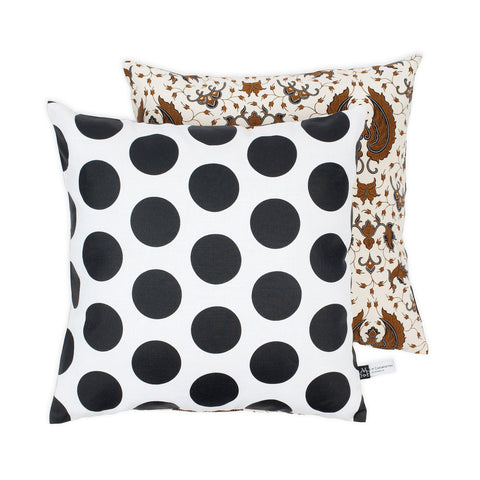Sarong & Dots Cushion