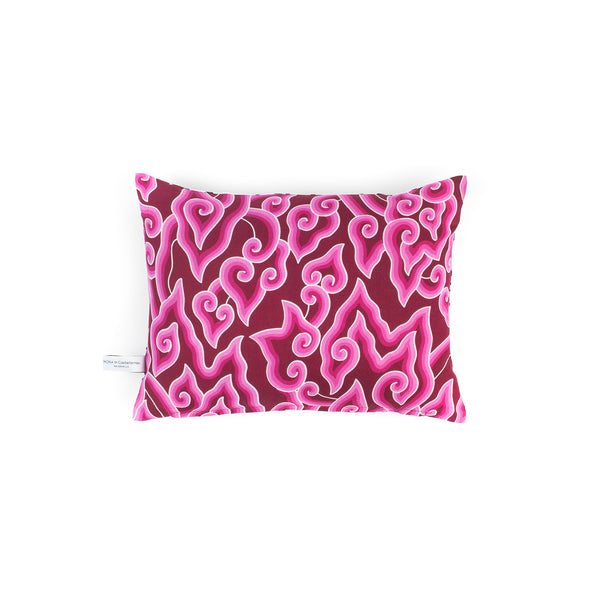Batik & Eyes Cushion - Pink