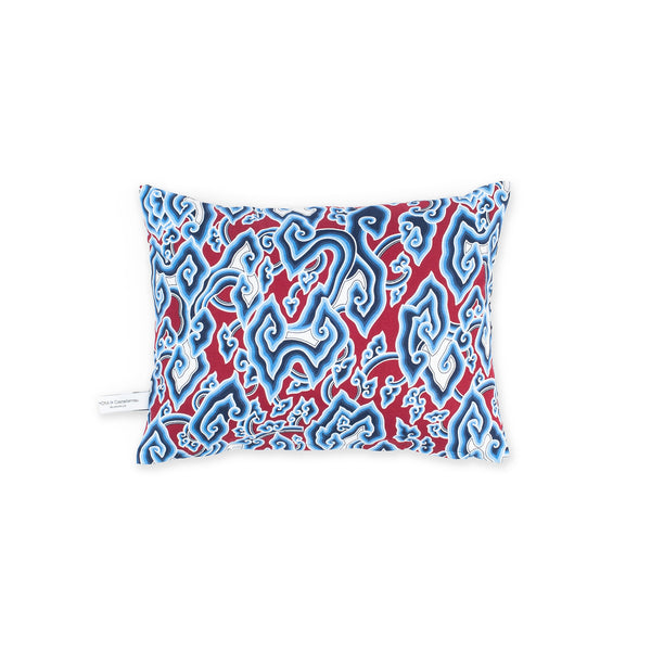 Batik & Eyes Cushion - Red