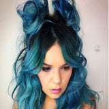 5 Blue Hair Makeovers You Need To See To Believe