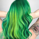 5 Green Hairstyles That Will Leave You Breathless