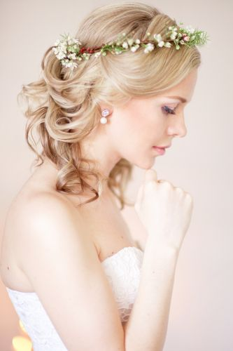 Platinum Bridal Hairstyle- ISA Professional