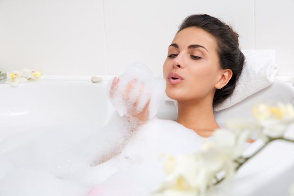 Woman Taking A Relaxing Bath | ISA Professional