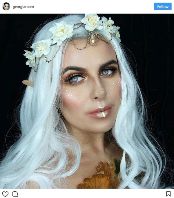 Wood Fairy Halloween Makeup