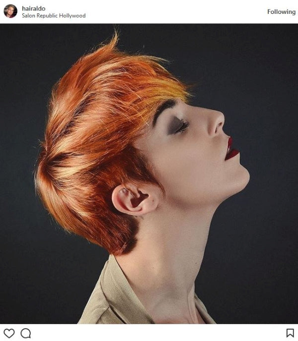 Red and Orange Pixie