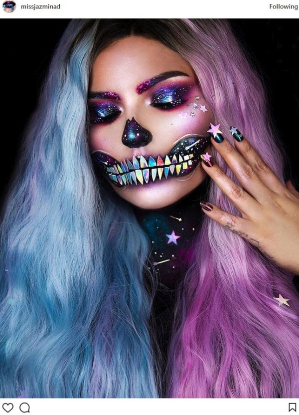 Halloween Fashion Skull Makeup