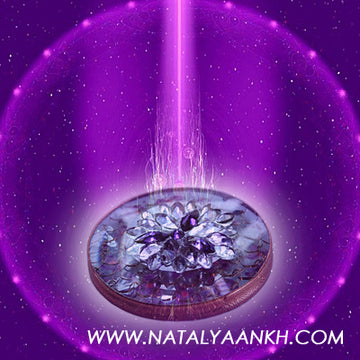 What is Saint Germain's Powerful Loving Violet Flame and why