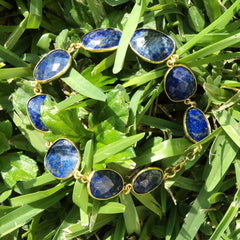 Lapis Lazuli Bracelet - Protects Against Psychic Attacks, Releases Stress, Brings Harmony & Peace