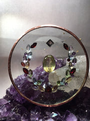 Abundance Disc - Increase the flow of love, prosperity, and wealth into your life.. Helps to remove your abundance blocks