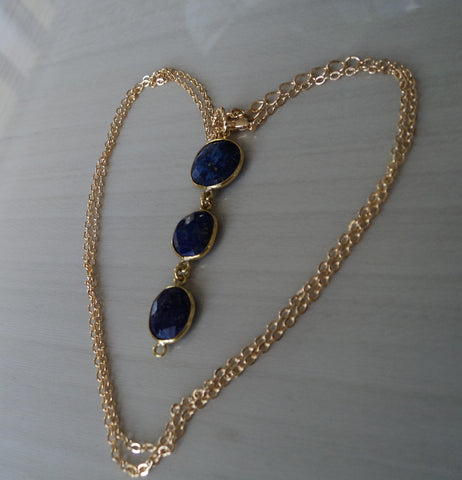 AA Lapis Lazuli Pendant - Protects Against Psychic Attacks, Releases Stress, Brings Harmony & Peace