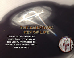 Ankh Key - Sacral Chakra Activator, Psychic Ability Enchancer, Self Acceptance, Bridging Heaven and Earth