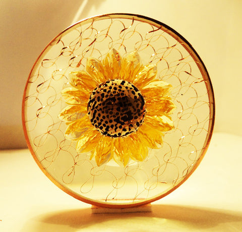 The Goddess Vortex - Sun Disc -  Helps to Release Pain, Activates Solar Plexus, Helps to Soothe Digestive Track, Balances out Emotional Body, Transmutes Negativity, Activates Creativity, Uplifts, Upgrades, Activates and Purifies DNA