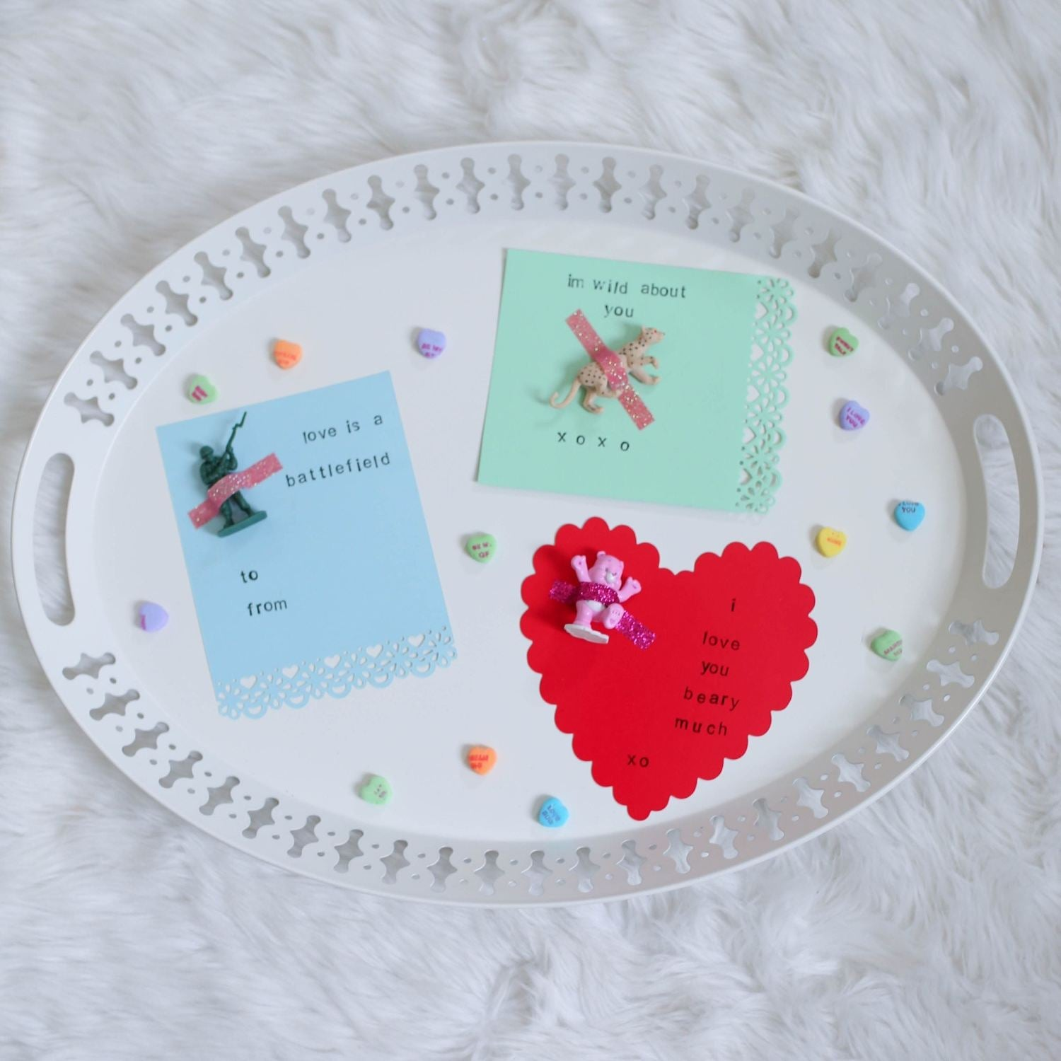 3 DIY Non-Candy Valentine's Day Cards