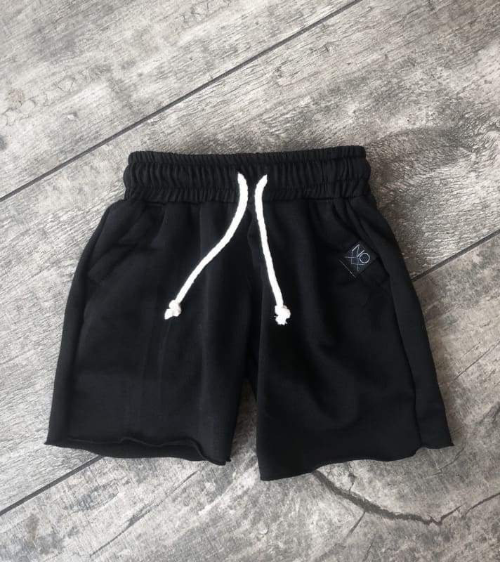 Black Lounge Shorts - 2T - Clothing