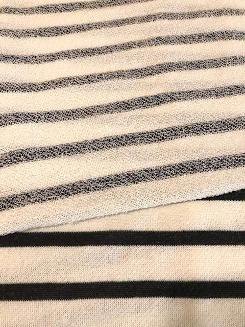 Black Stripes | Swaddle or Kids Throw Blanket