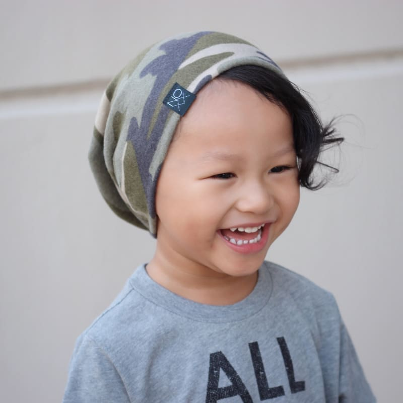 Camouflage | Cozy Sweater Knit Beanie