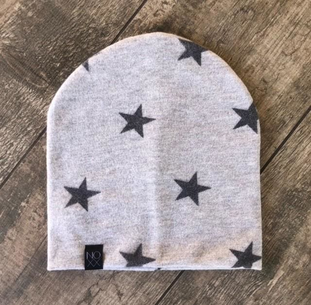 Grey Star | Cozy Sweater Knit Beanie