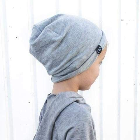 Heather Grey | Signature Style Beanie - Youth - Beanies