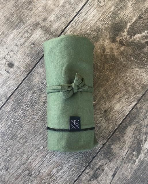 Olive | Swaddle or Kids Throw Blanket