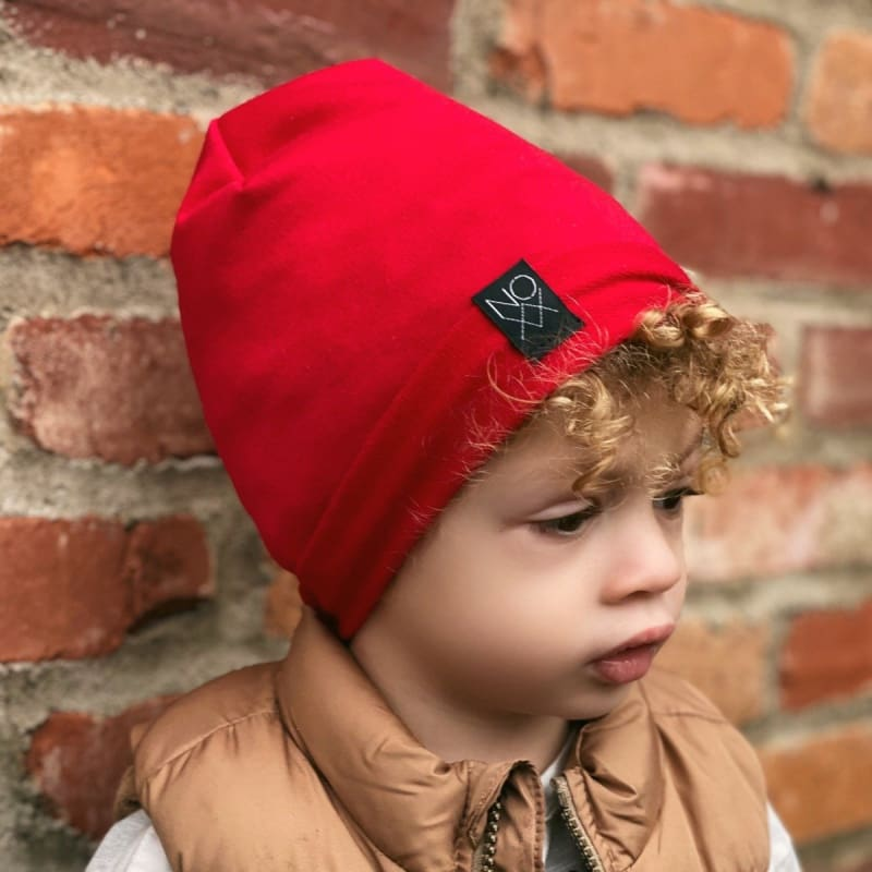 Red | Signature Style Beanie