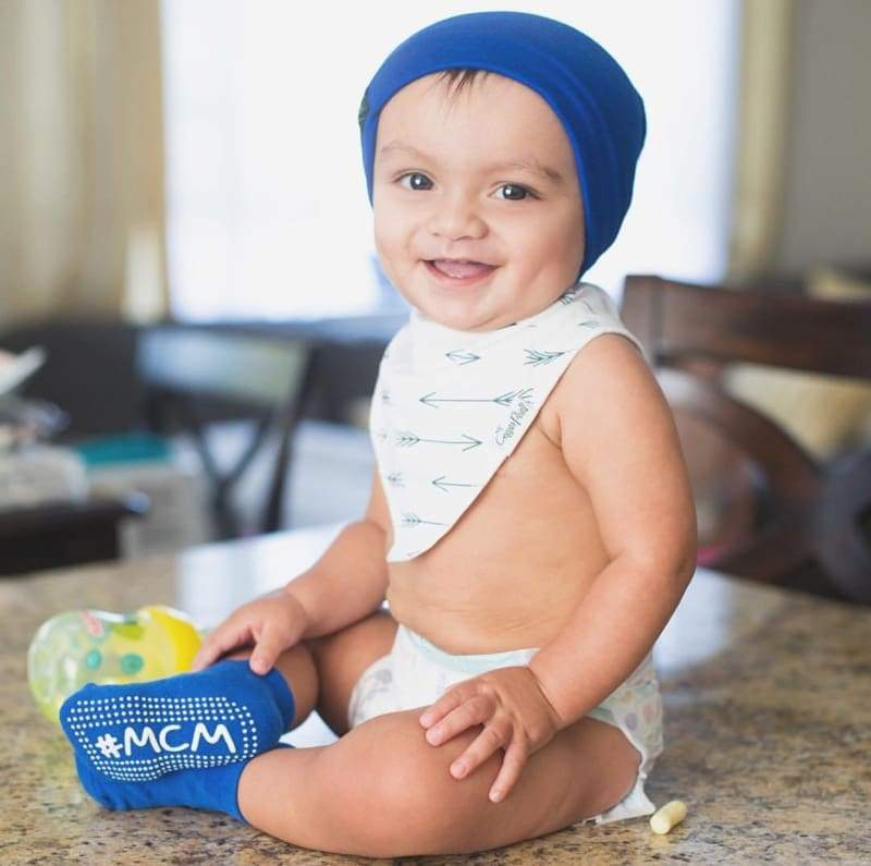 Royal Blue | Sweater Knit Beanie - Beanies