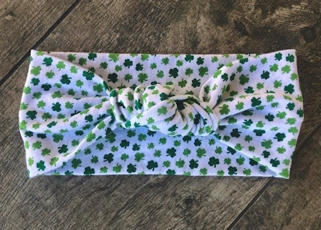 Shamrock | Adjustable Knotted Headband