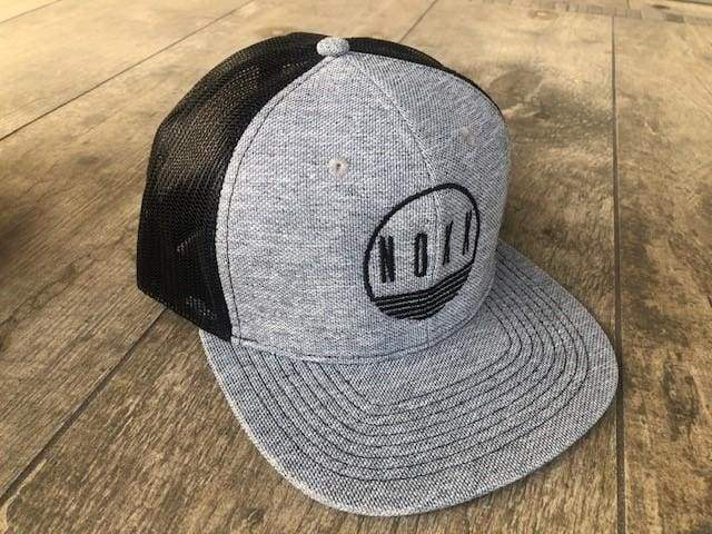 Sunrise Logo Hat | Heather Grey Snapback - Hats