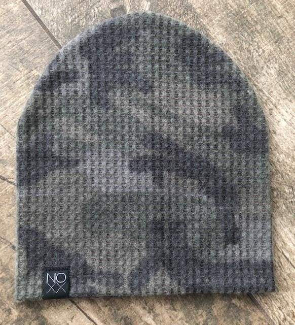 Camouflage | Cozy Waffle Knit Beanie - Beanies